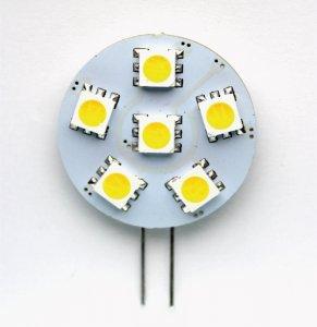 LED Stecker G4 1.2 Watt ww/cw