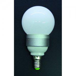 LED Kugel E14 3 Watt ww/cw
