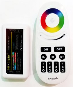 Set Fernbedienung + Aktor RGB Justierung + Dimmung