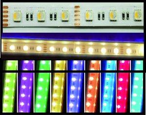 LED Strips 14mm RGB+WW IP20 5m Rolle 20 W/m