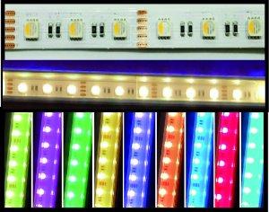 LED Strips 14mm RGB+WW IP20 20 W/m auf Mass