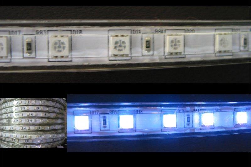 LED Strips 230V 14mm RGB IP65 1m