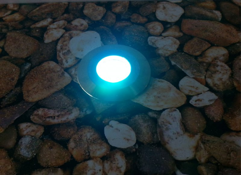 LED Bodeneinbauleuchte 3W 12V RGB