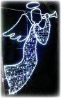 LED Weihnachtsbeleuchtung grosser Engel