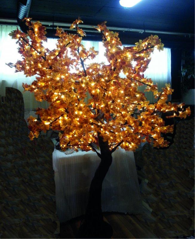 LED Ahornbaum mit Blätter 880 LEDs ww