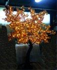 LED Ahornbaum mit Blätter 880 LED ww