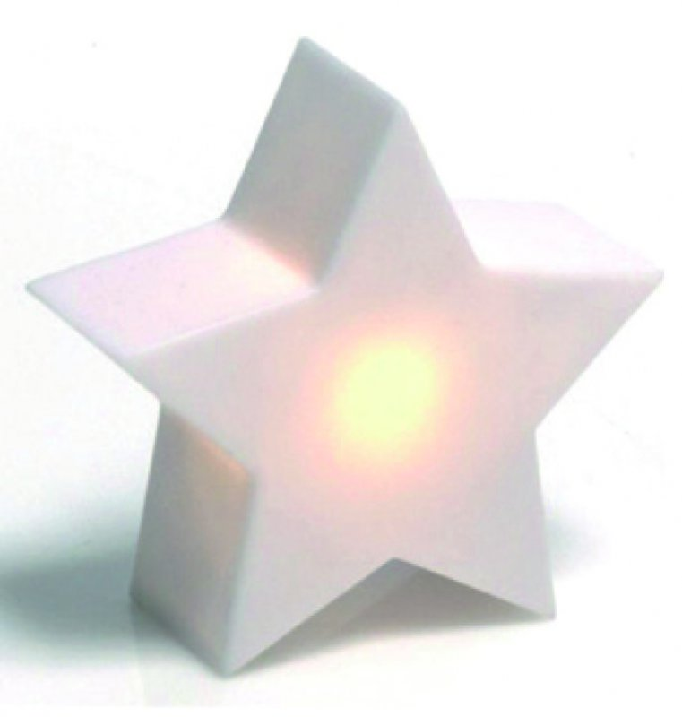 LED Deko Stern mit Licht