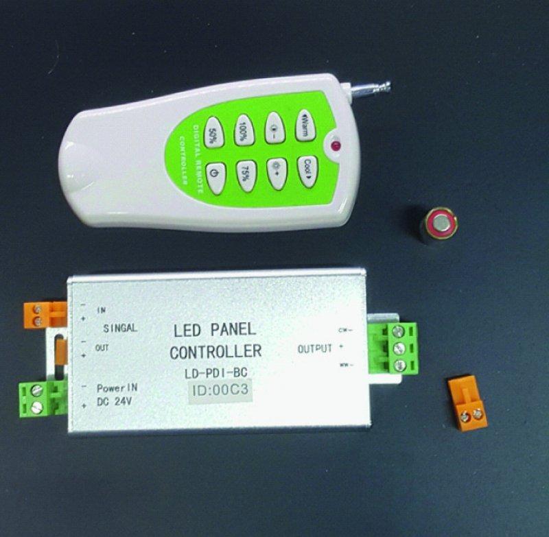 LED ww-cw Controller Radiofunk 24V