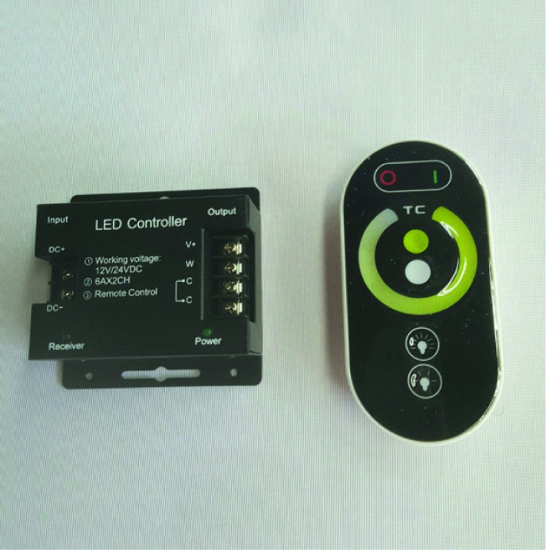 LED Controller ww/cw Touch Radiofunk 12-24V