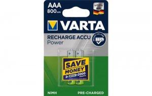 Batterie Varta Akkus AAA 2er Pack