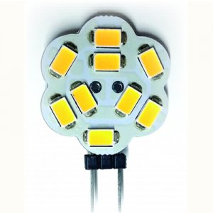 LED G4 2 Watt 9x5630 SMD 10-30V ww/nw