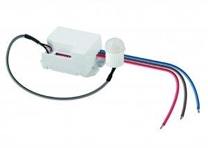 LED Mini Einbaubewegungsmelder IR