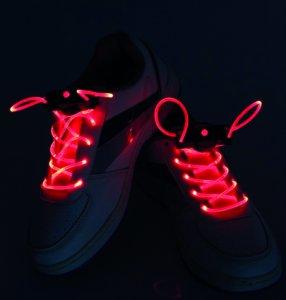 LED Schnürsenkel Rot, Grün oder Blau