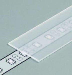 Profil Abdeckung E slide weiss/frost/transparent