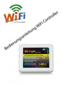 Bedienungsanleitung  Wi-Fi Controller