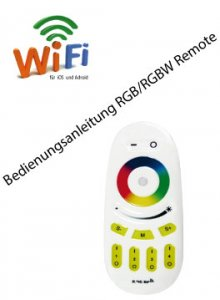 Bedienungsanleitung  RGB / RGBW Controller