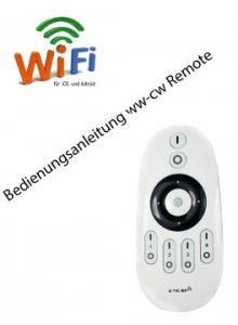 Bedienungsanleitung  ww-cw Controller