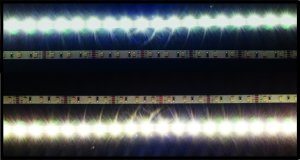 LED Strips 8mm ww bis cw justierbar IP20 12V 5m Rolle 9.6 W/m