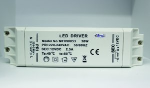 LED Converter 12V, 30 Watt IP20