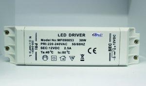 LED Converter 12V 30 Watt IP20