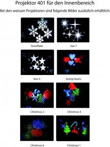 Bilder für den Projektor 401 Innenbereich