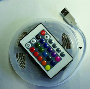 LED Strips RGB IP20 mit USB Anschluss 2m