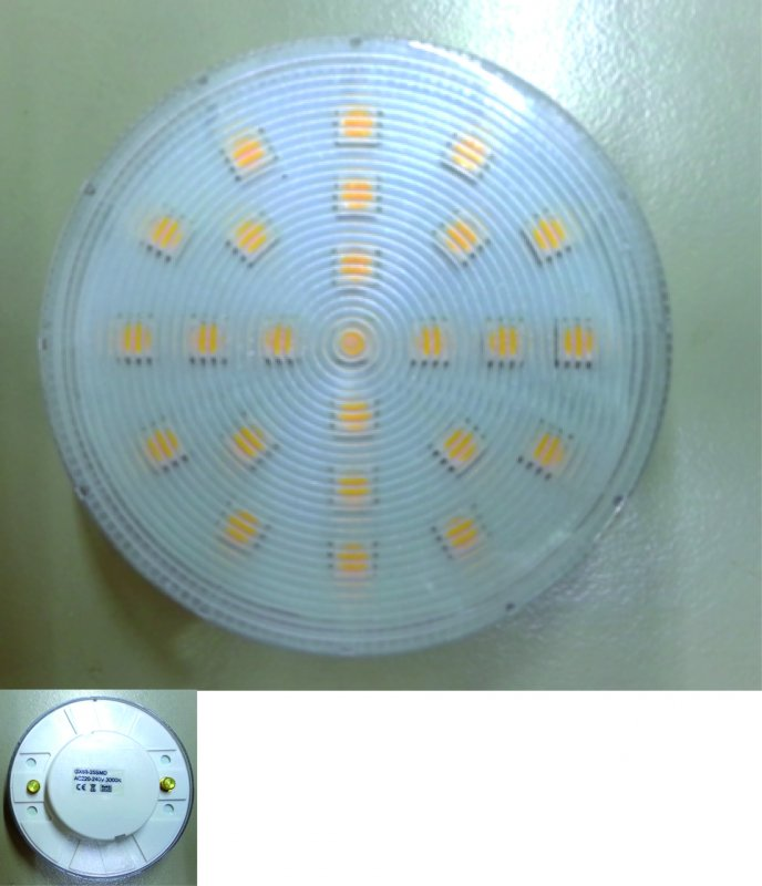 LED GX53 5 Watt warmweiss