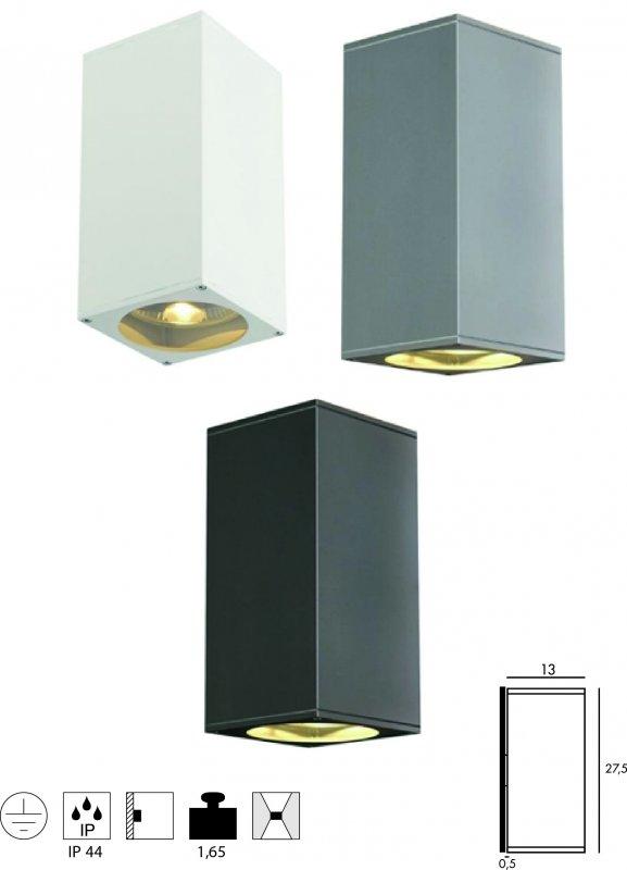 aussenleuchte big theo up down. Black Bedroom Furniture Sets. Home Design Ideas