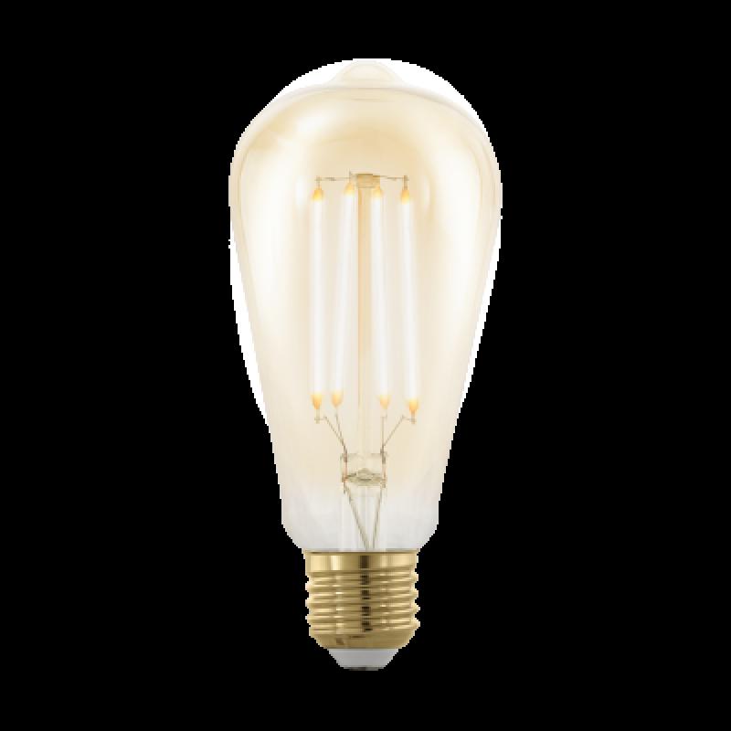 LED Kolben E27 4 Watt Warmweiss