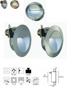 Wandleuchte Downunder 14 LED Integriert  ww/cw