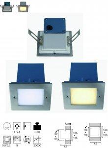 Wandleuchte Frame Outdoor LED Integriert