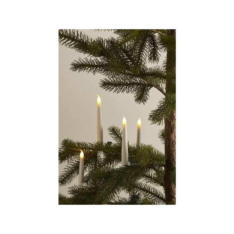 LED Kerzen Carolina 10er Set weiss,rot oder gold