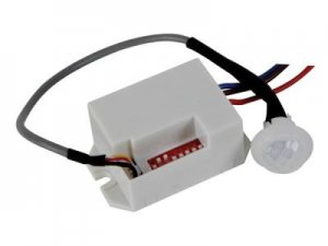 LED Mini Einbaubewegungsmelder IR 12V
