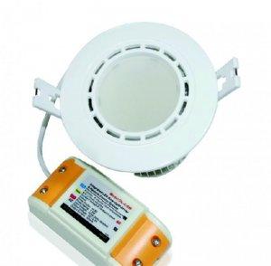 LED Einbauleuchte Rund 6 Watt ww bis cw justierbar