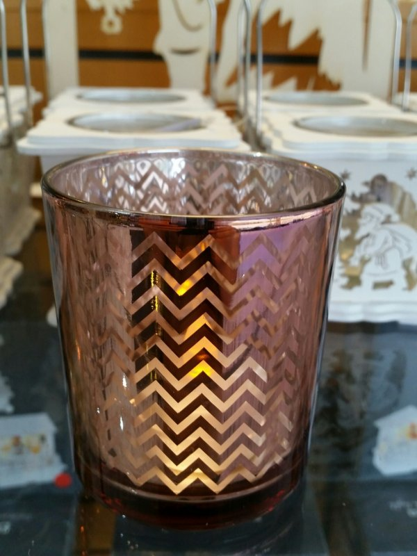 Teelichtglas Modell 1