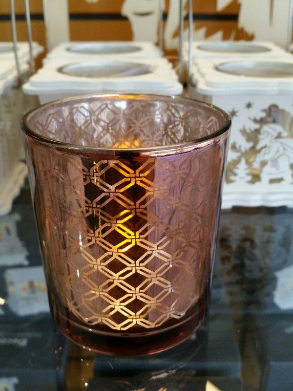 Teelichtglas Modell 2