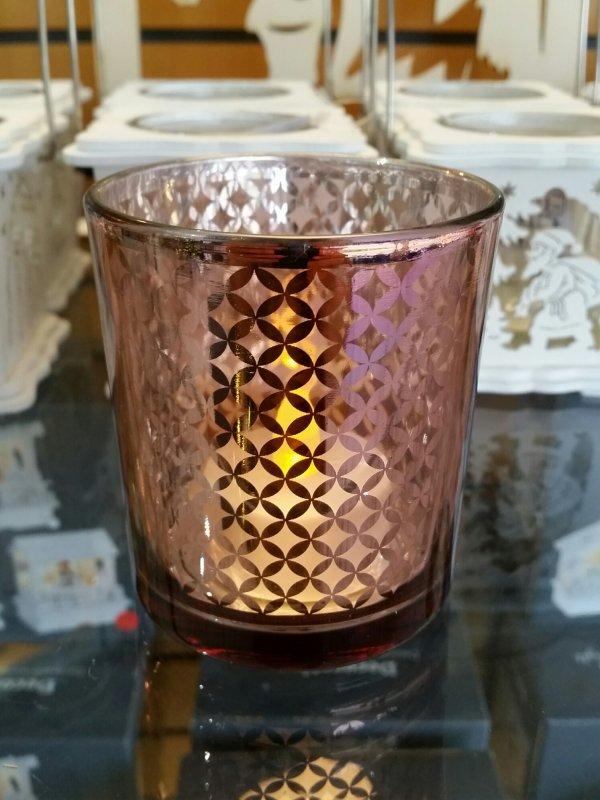 Teelichtglas Modell 4
