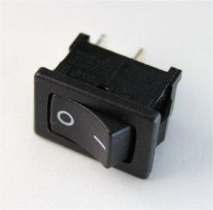 Einbauschalter I/0 schwarz