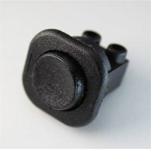 Einbauschalter schwarz