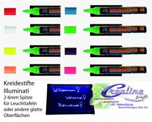 Kreidestift für Leuchtschild 2-6mm Spitze