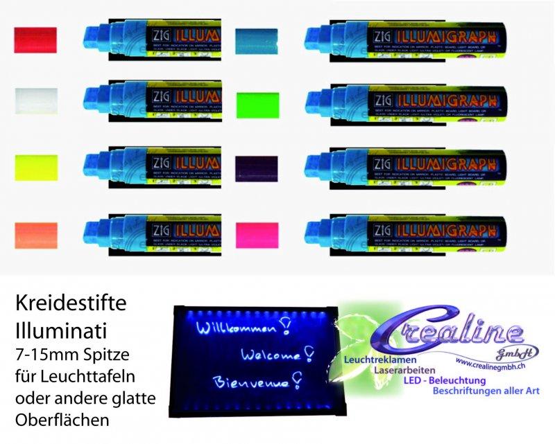 Kreidestift für Leuchtschild 7-15mm Spitze