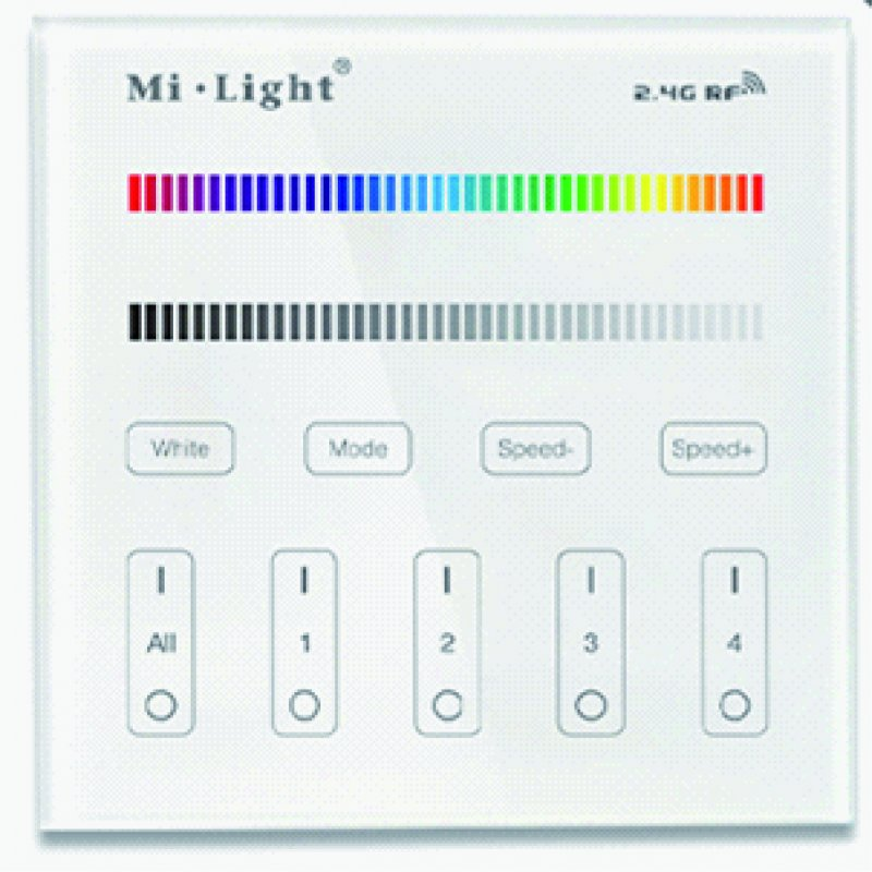 Wandsender miLight RGB / RGBW mit Batterie