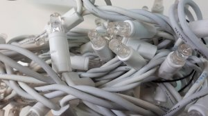 LED Lichterkette weiss 4m Länge ww