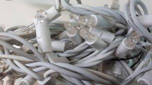 LED Lichterkette weiss 8m Länge ww Erweiterung