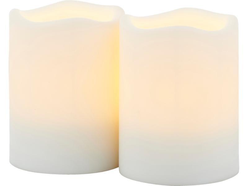 LED Kerzen-Set Outdoor mit Timer 5x6.5cm