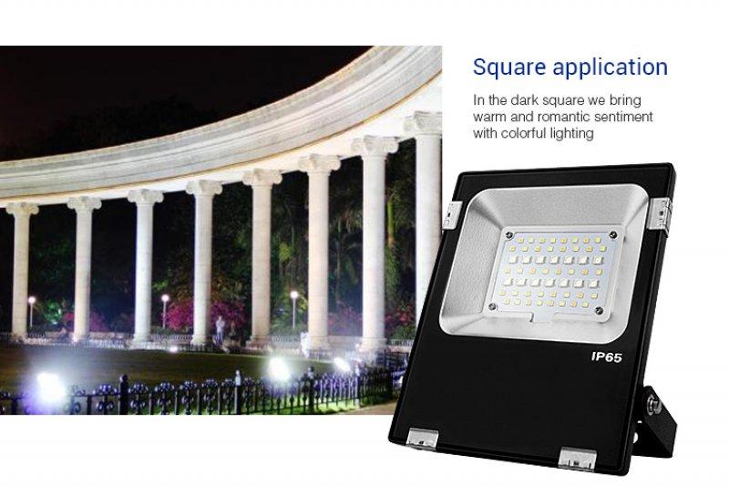 Flutlicht  20W RGBcct MiLight / Miboxer