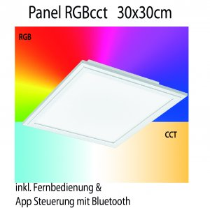 Panel RGB cct Eglo connect 30x30cm