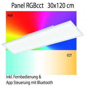 Panel RGB cct Eglo connect 30x120cm
