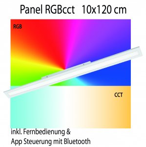 Panel RGB cct Eglo connect 10x120cm