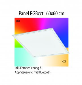 Panel RGB cct Eglo connect 60x60cm